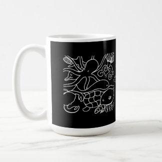 Natation de nuit mug