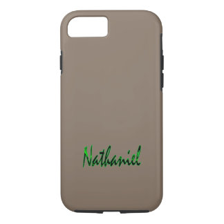 Nathaniel a customisé le coque iphone dur coque iPhone 7