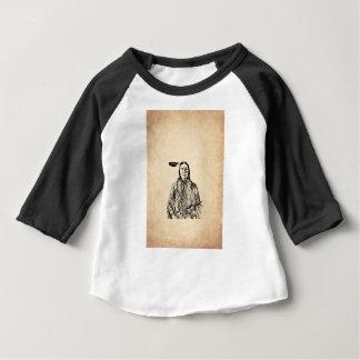 Natif américain t-shirt pour bébé