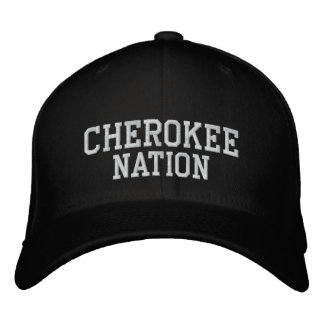 Nation cherokee casquette brodée