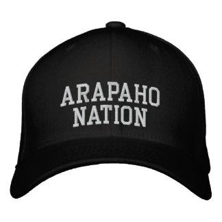 Nation d'Alapaho Casquette Brodée