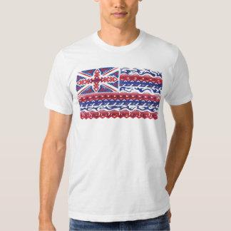 Nation de drapeau d'Hawaï T-shirts