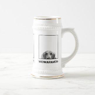 Nation de Weimaraner : Weimaraner dans une boîte ! Chope À Bière