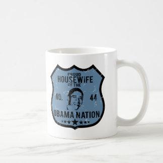 Nation d'Obama de femme au foyer Mug