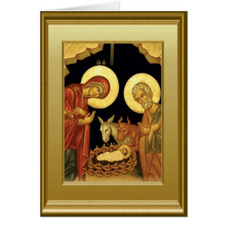 Nativité Carte De Vœux