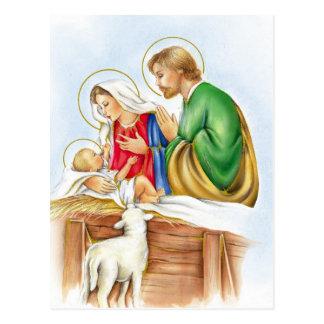 Nativité Carte Postale
