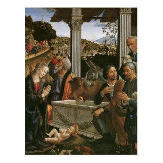Nativité - cartes postales de Domenico Ghirlandaio