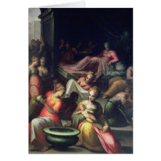 Nativité de Jean-Baptist Carte De Vœux