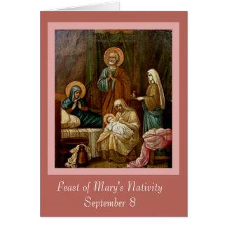 Nativité de St Anne Joachim de Vierge Marie Cartes