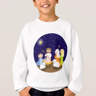Nativité du seigneur sweatshirt