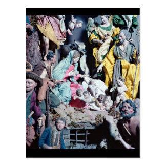 Nativité, faite à Naples Carte Postale