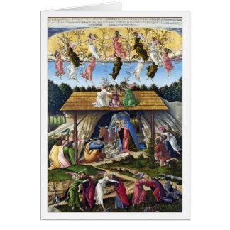 Nativité mystique par Sandro Botticelli Cartes