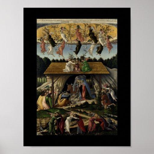 Nativité mystique affiches