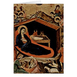 Nativité par Duccio Cartes