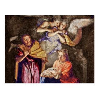 Nativité par Noel Coypel Carte Postale