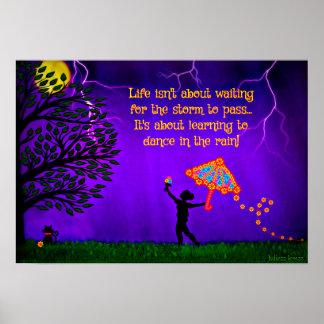 N'attendez pas la tempête pour passer, danser… posters