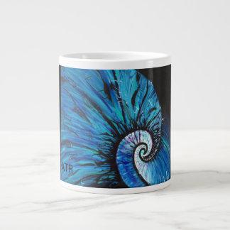 Natulius bleu grande tasse