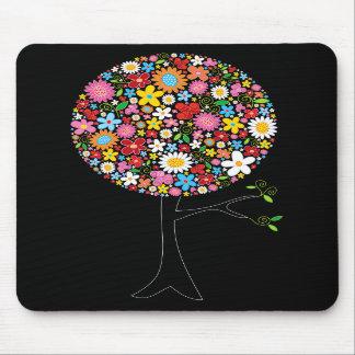 Nature colorée lunatique d'arbre de bruit de fleur