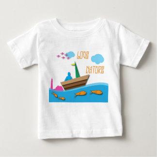 Nature d'amour t-shirt pour bébé