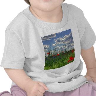 Nature de fleur t-shirts