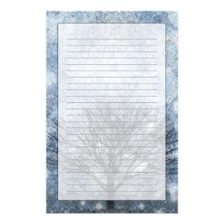 Nature de survie papier à lettre customisable