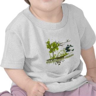 Nature d'expérience t-shirts
