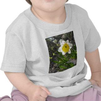 nature florale de fleur jaune de jonquille t-shirt