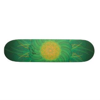 Nature personnalisable (spirograph psychédélique) planche à roulette