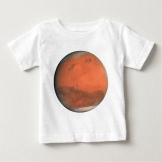 ~ naturel de véritable couleur de MARS de PLANÈTE T-shirt Pour Bébé