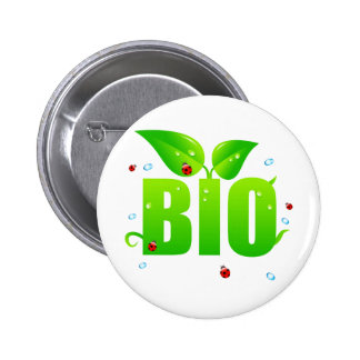 Naturel organique biologique vert badges