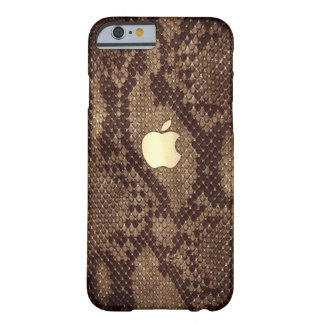 Naturellement cas de style de peau de serpent coque iPhone 6 barely there