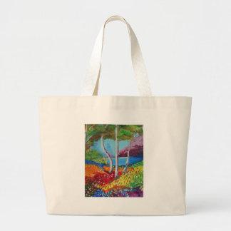 Naturellement coloré grand sac