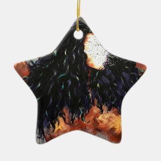 Naturellement XV Ornement Étoile En Céramique