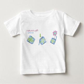 Nature's gift baby tee t-shirt pour bébé