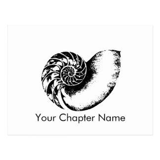 Nautilus de delta de Kappa Cartes Postales