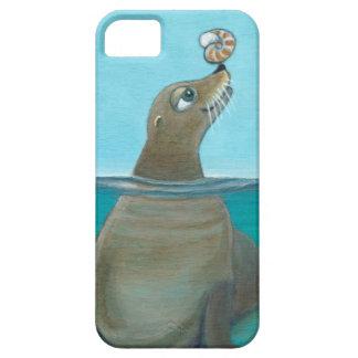 """""""Nautilus"""" l'otarie Étui iPhone 5"""