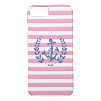 Nautique, guirlande de laurier, cas de l'iPhone 7 Coque iPhone 7