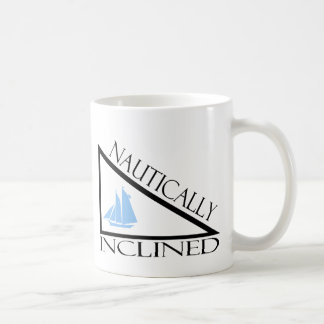 Nautique incliné mug