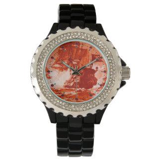 Nautique rouge de BATAILLE de BATEAU de PIRATE Montres Bracelet