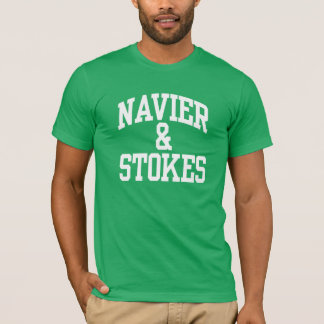 Navier et charge le T-shirts