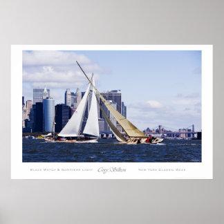 Navigation classique de semaine de New York Posters