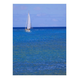 Navigation Hawaï Affiches