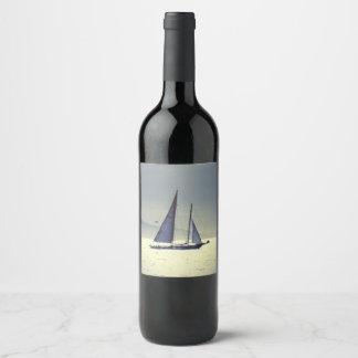 Navigation loin étiquette pour bouteilles de vin
