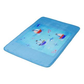 Naviguez la mer tapis de bain