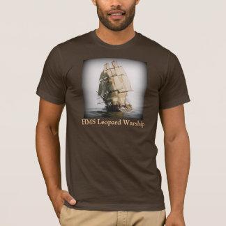 Navire de guerre de léopard de voie HMP - T-shirt