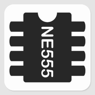 NE-555 STICKER CARRÉ