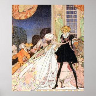 Ne buvez pas ! Art Nouveau par Kay Nielsen Posters