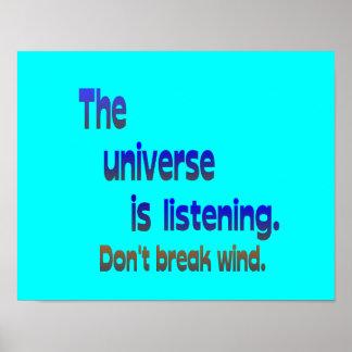 Ne cassez pas le vent - l univers écoute