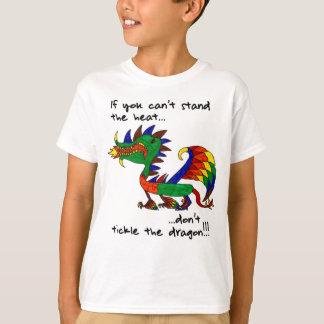 Ne chatouillez pas le dragon t-shirt
