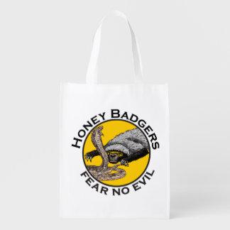 Ne craignez aucune conception animale d'art de sac réutilisable